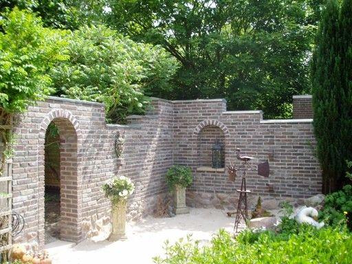 Mauer Für Sitzecke Im Garten Selber GestaltenGarten Sitzecke Mauer ...
