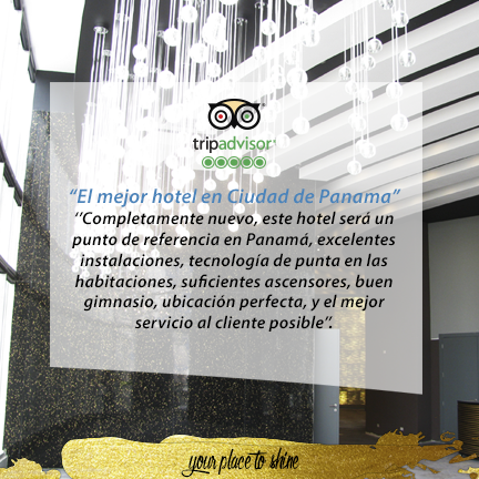 Our pride: Exceeding our guests' expectations.  www.lasamericasgoldentower.com