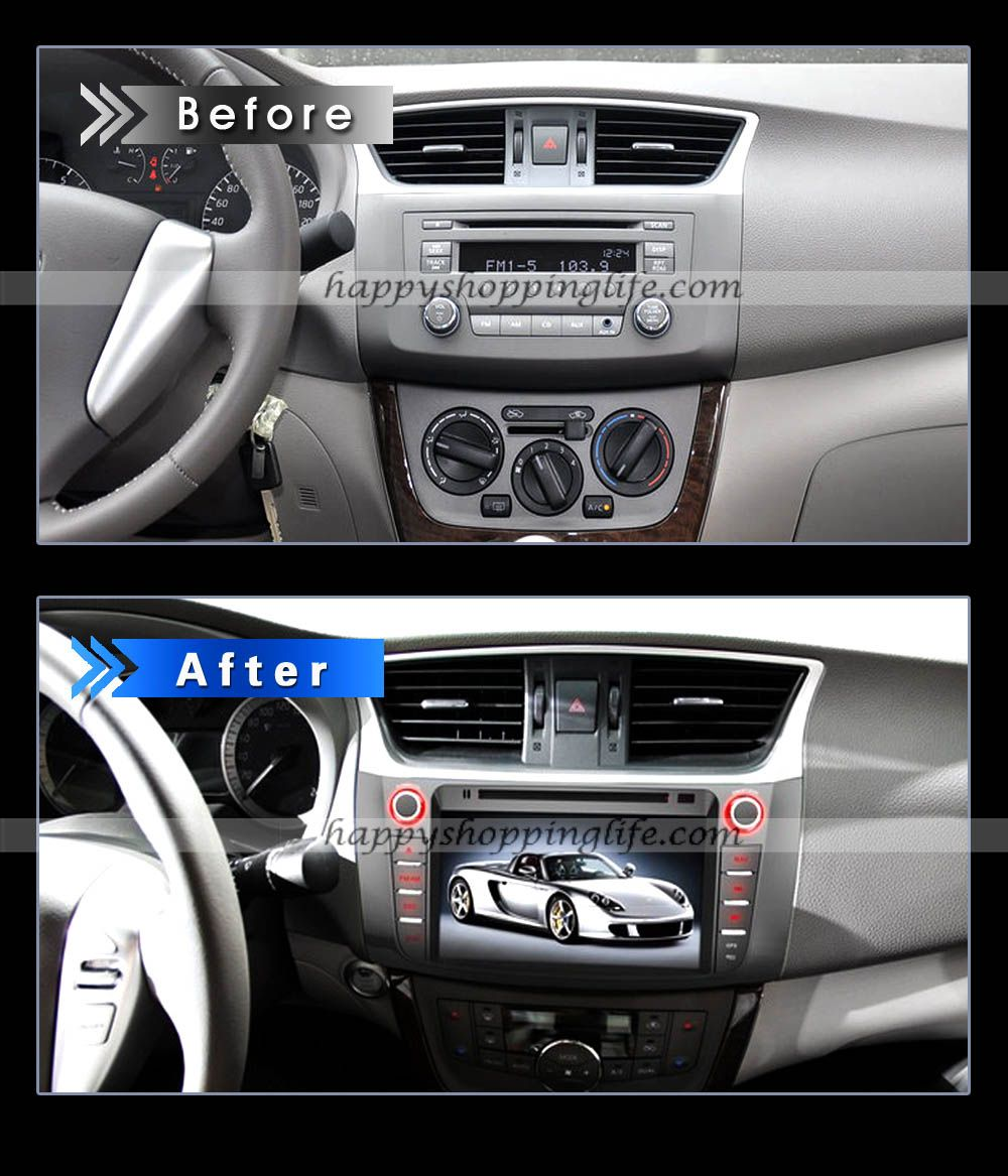 Car dvd player with gps navigation fit new nissan sylphy 237 69 http www happyshoppinglife com car dvd player with gps navigation fit new n pinteres