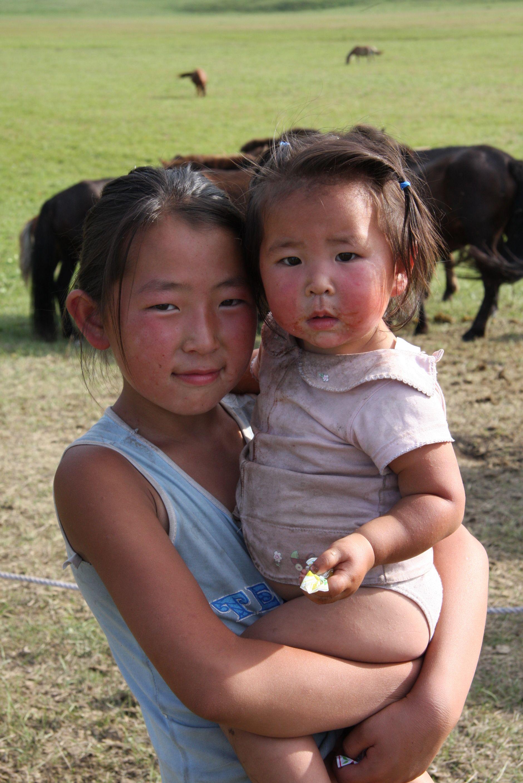 Mongolian childeren