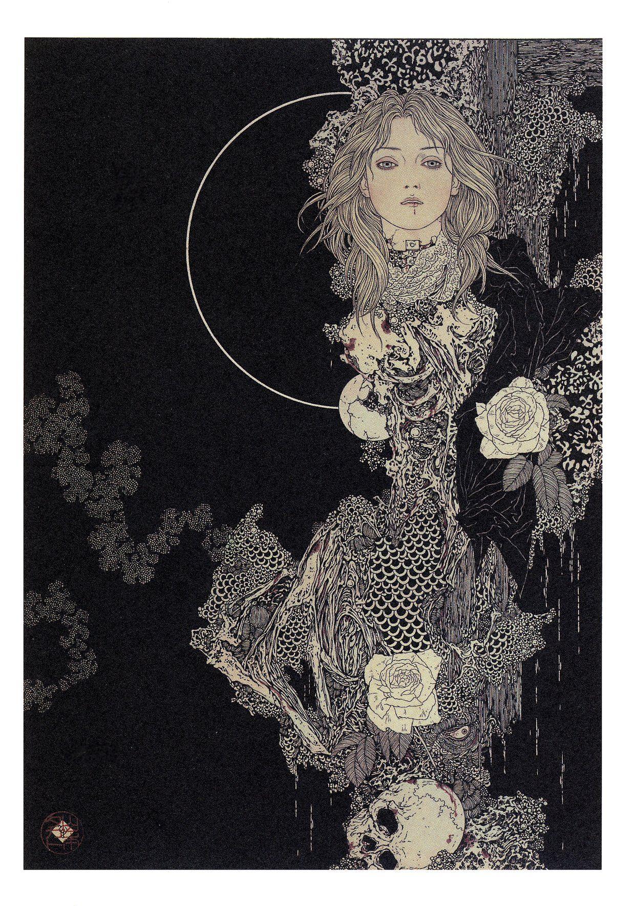 The Decadently Detailed Artwork Of Takato Yamamoto Art Illustration Art Artwork