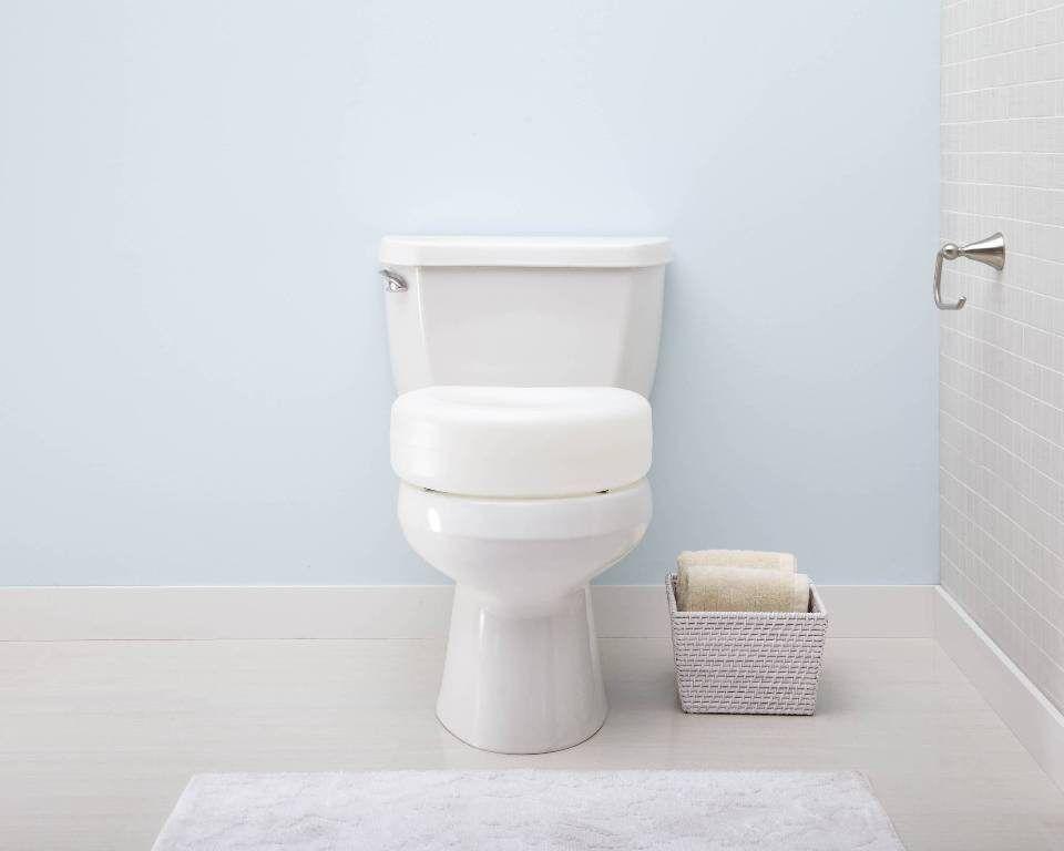 Bathroom Raised Toilet Seats For Extra Height Toilet Seat