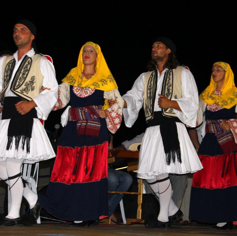 Risultati immagini per folklore  SANTORINI