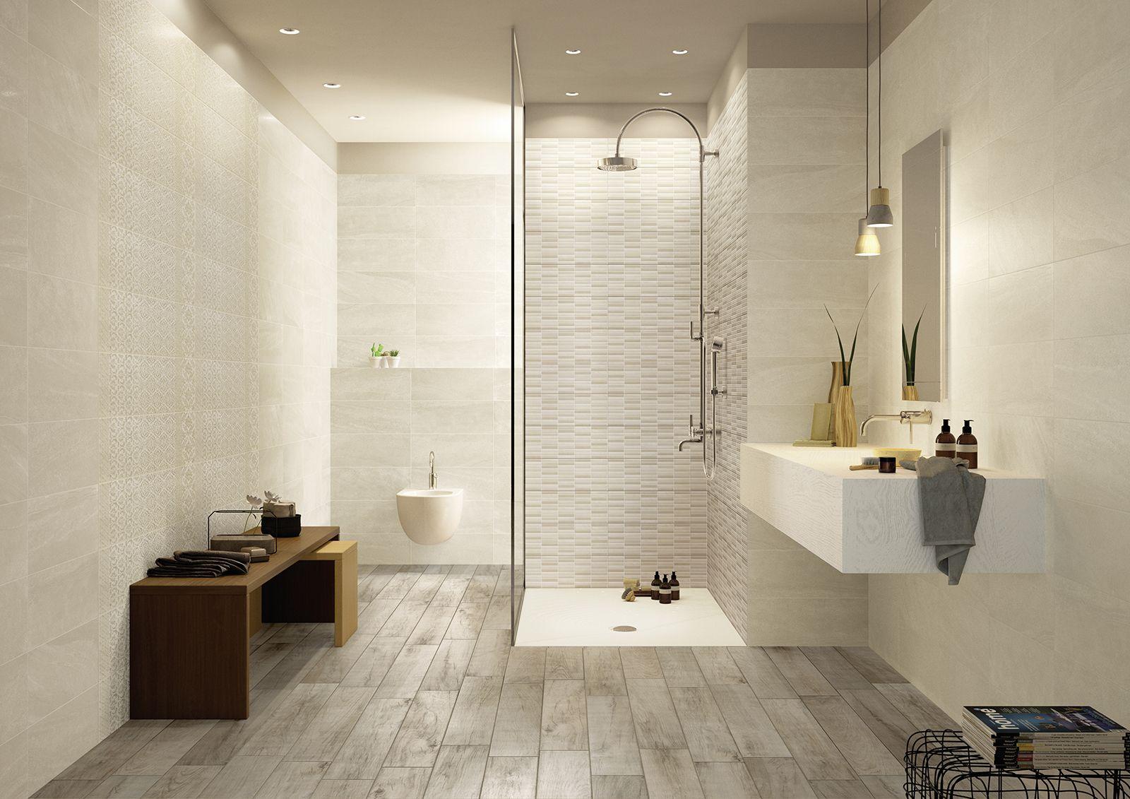 Interiors ceramic tiles Marazzi_6173 | Bathroom | Pinterest | Wall ...