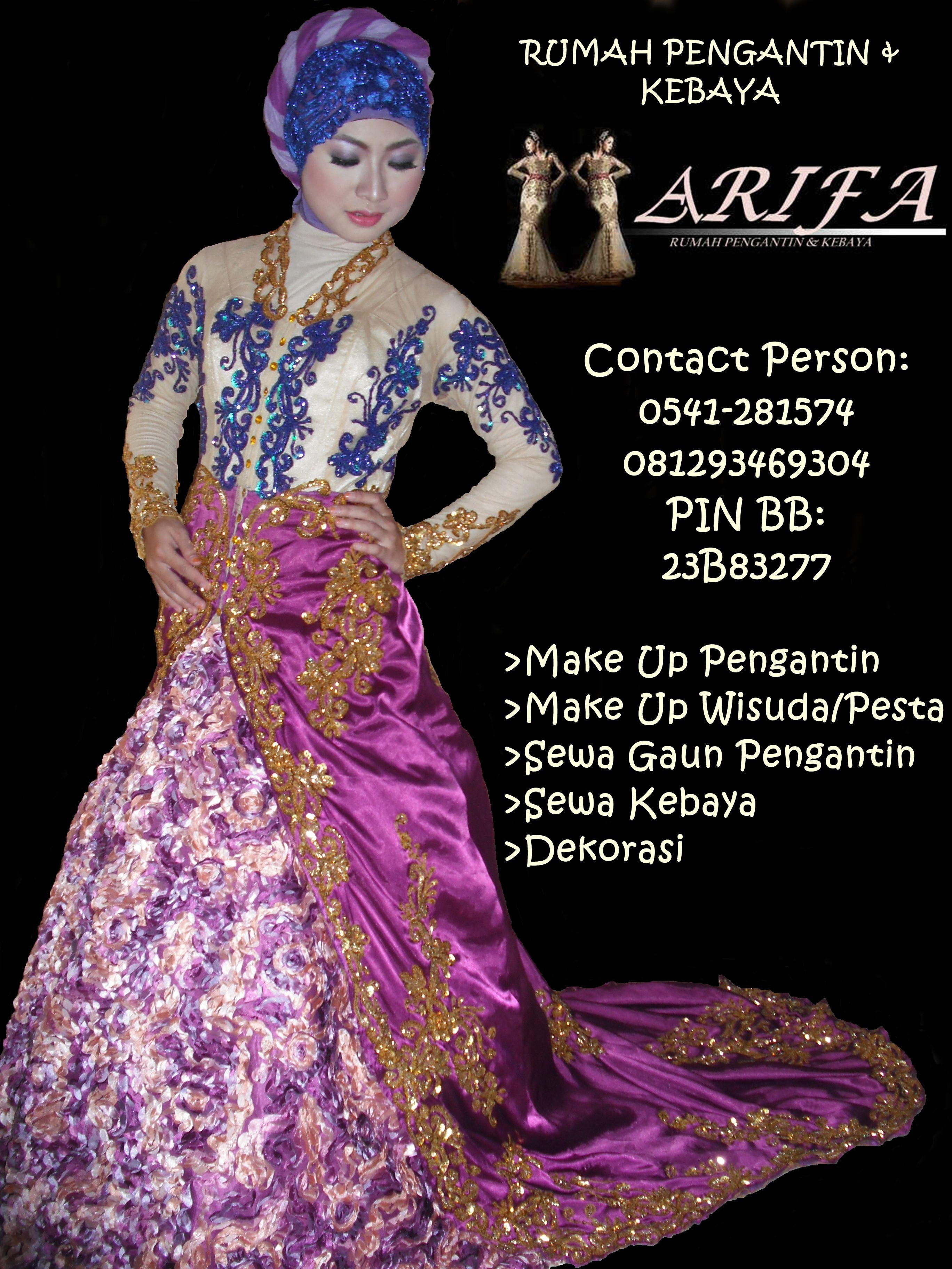 Rumah Pengantin & Kebaya ARIFA Wedding Pinterest