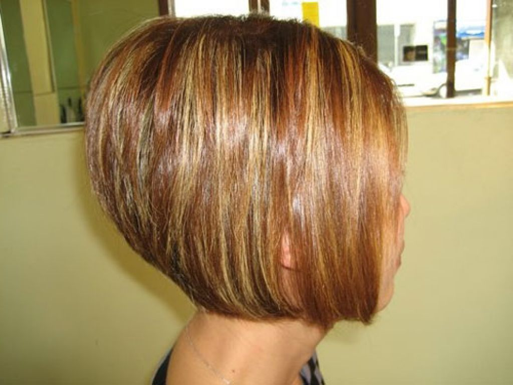 Stacked Bob Back View | Short Stacked Hairstyles Back View ...