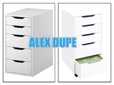 Alex 5 Drawer Dupe Review Ikea Alex Drawers Vanity Drawers Ikea Vanity