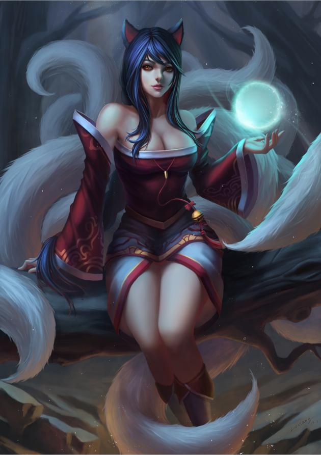 Ahri: huntress of souls