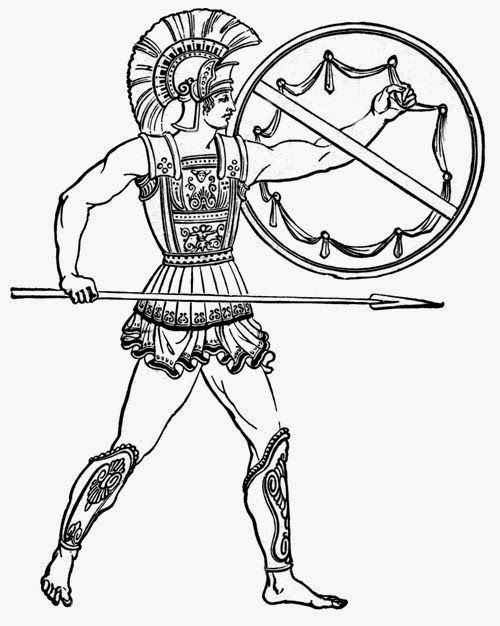 Ancient Greeks Clip Art 051415 Vector Clip Art