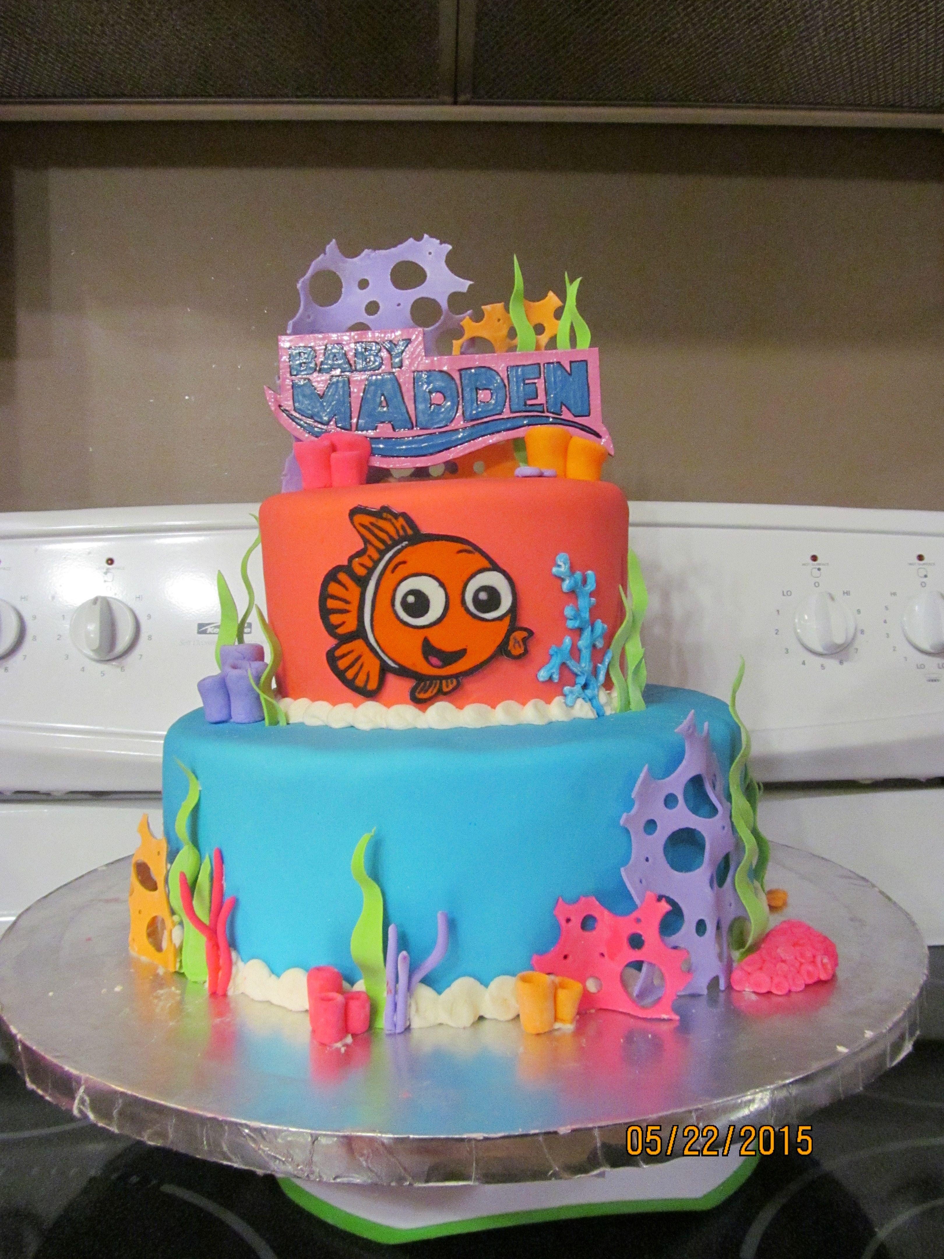 Finding Nemo Baby Shower Cake Cakes We Made Pinterest