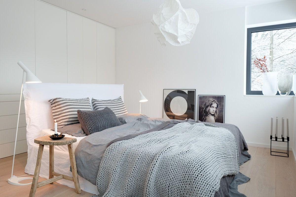Winterschlafzimmer #interior #interiordesign #einrichtung  #einrichtungsideen #deko #dekoration #decoration # · Dachgeschoss  SchlafzimmerSkandinavisch ...