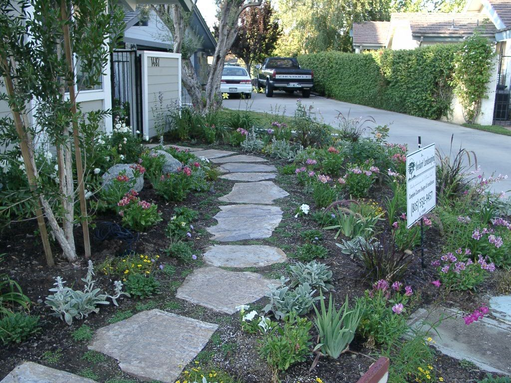 17 best images about flagstone paths walkways on pinterest stone walkways flagstone walkway and pathways - Flagstone Walkway Design Ideas