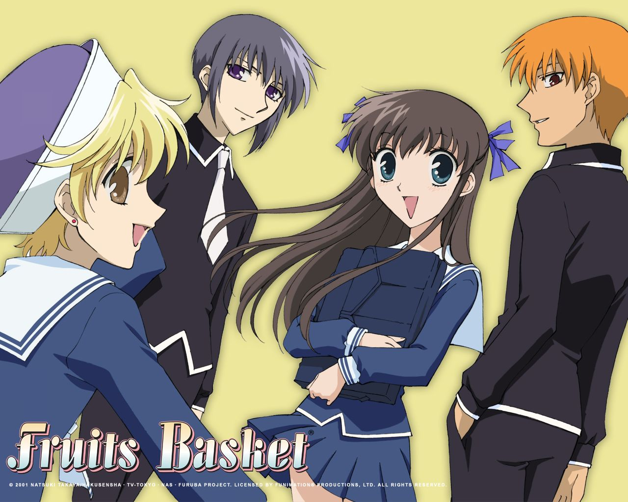 anime fruits.basket pics Anime Fruits Basket Fruits