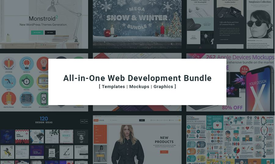 TemplateMonster's All-in-One Web Development Bundle Announcement