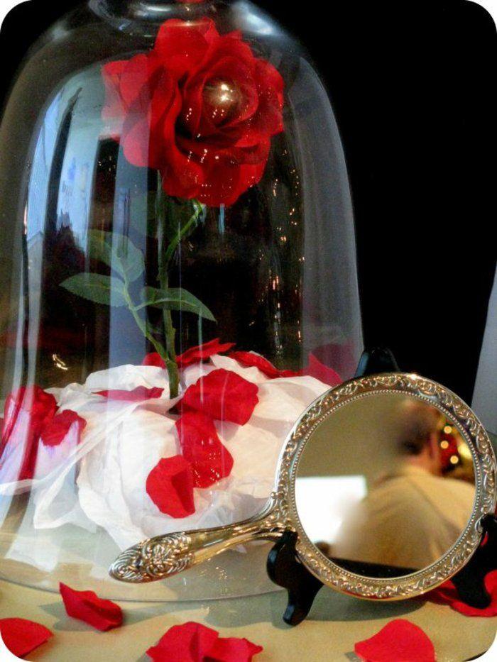 la belle et la b te disney d coration en 80 id es magnifiques mariage disney d co de mariage. Black Bedroom Furniture Sets. Home Design Ideas