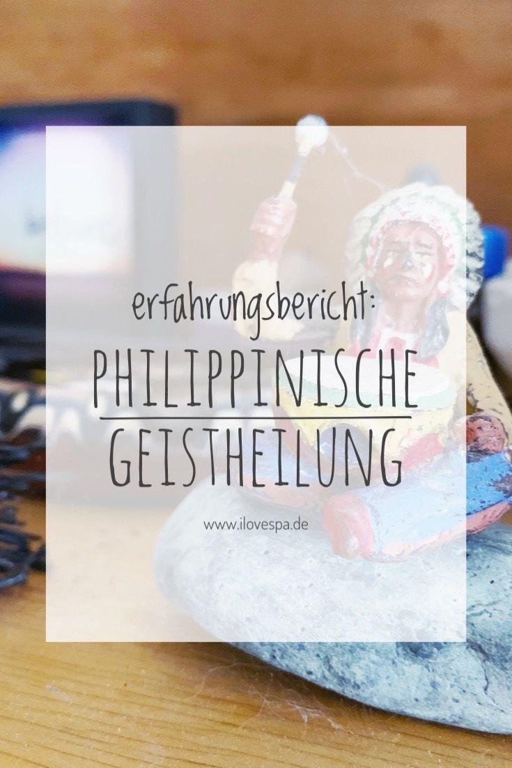 Philippinische Geistheilung in Deutschland bei Christin