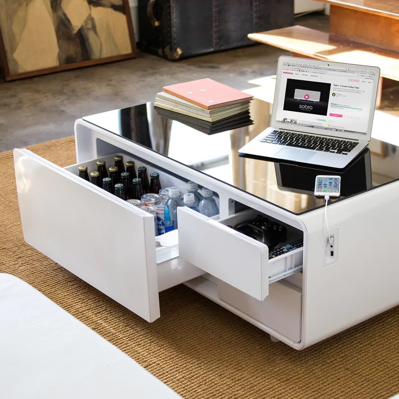 Coffee Table with Storage Coffee table design, Furniture