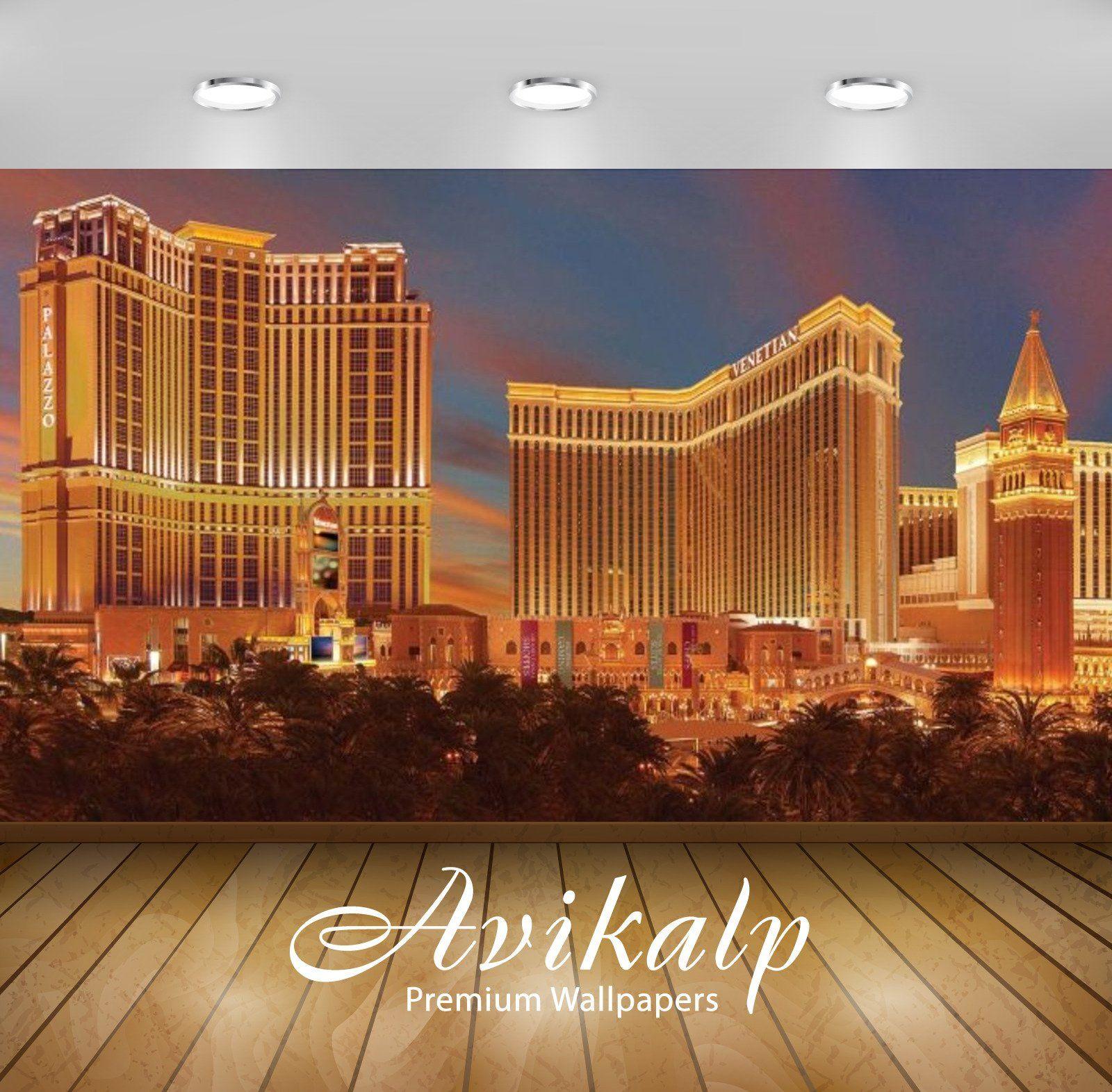 Avikalp Exclusive Awi3140 The Las Vegas Boulevard