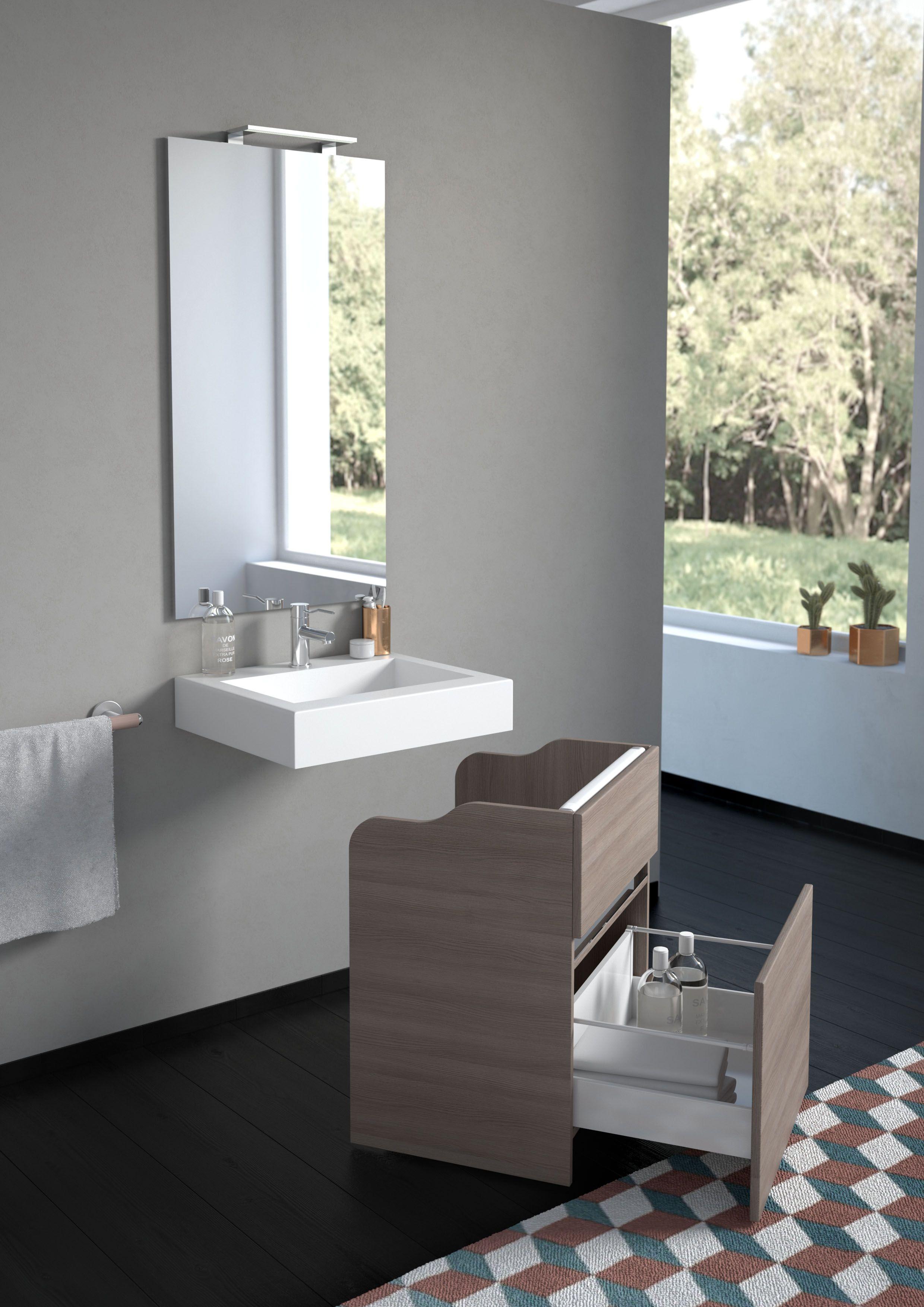 Nuovo concept di arredo bagno, frutto di una ricerca per il comfort ...