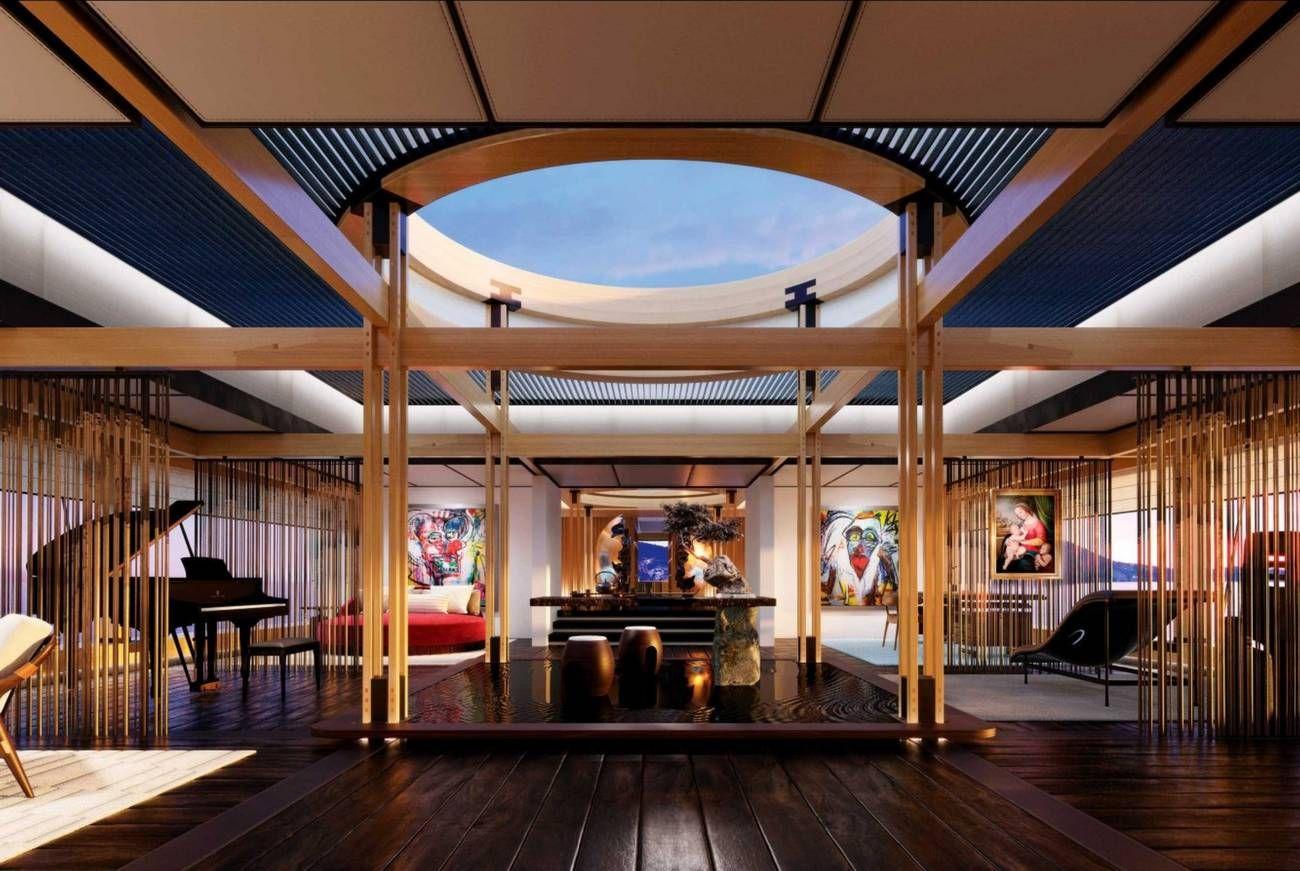 Atelier Du Bois Monaco aqua superyacht concept | yacht interior, architecture