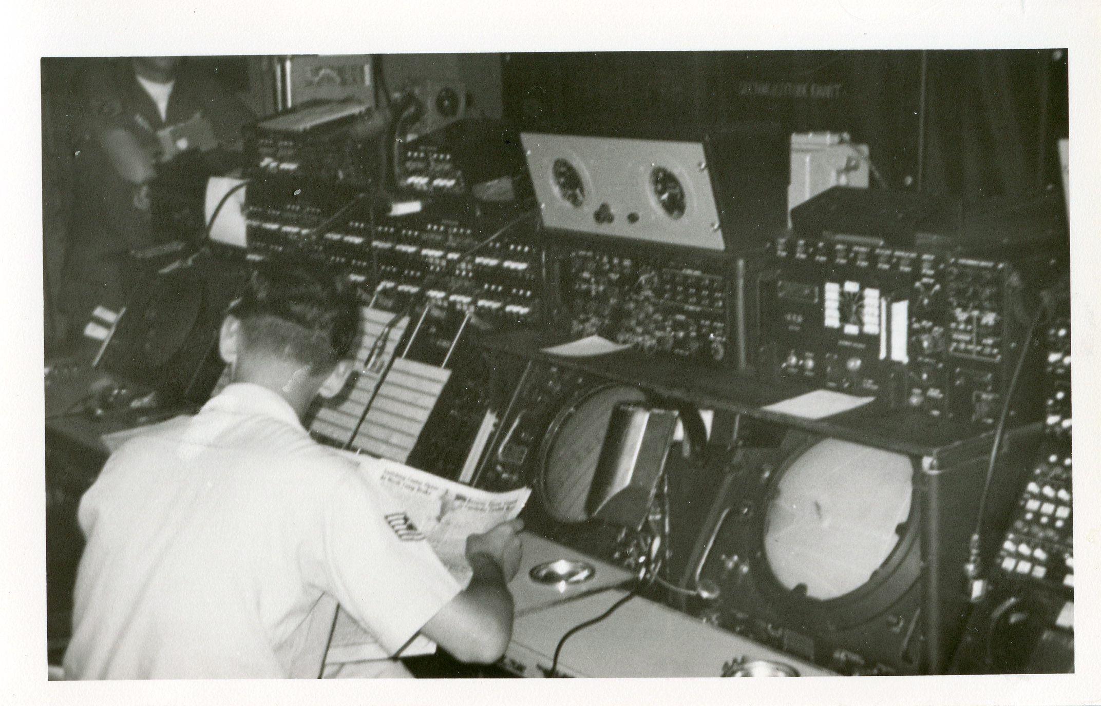 Radar Approach Control (RAPCON) Takhli RTAFB 1968