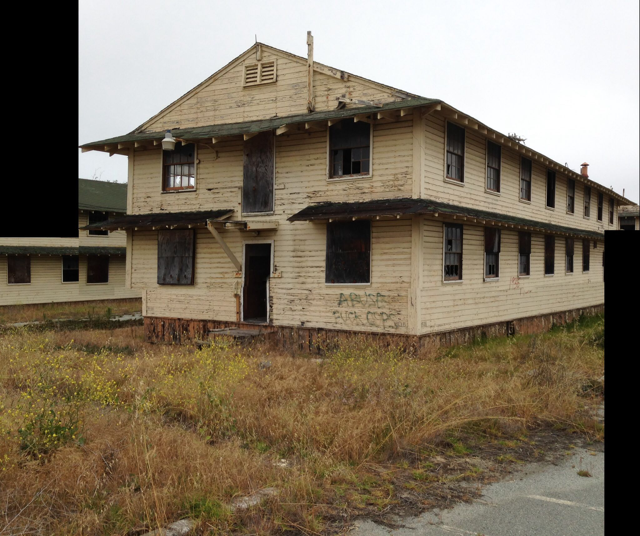 I visited fort ord ca last week and located the barracks for Old wooden forts