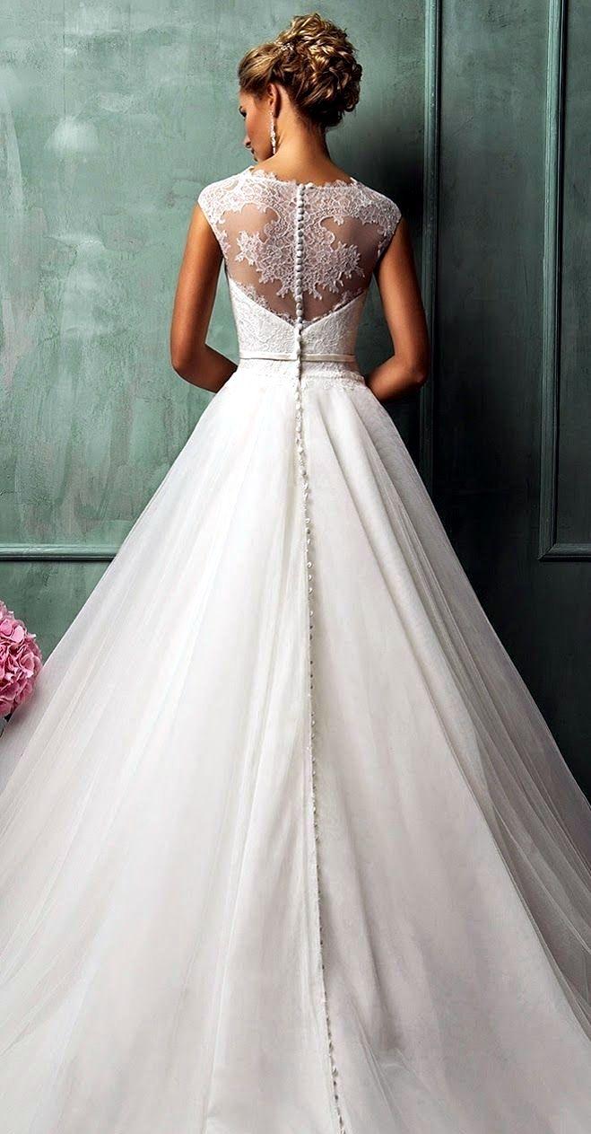 Pin de Efi Klap en Wedding ideas | Pinterest | Vestidos de novia, De ...