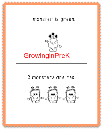 Free Printable emergent reader
