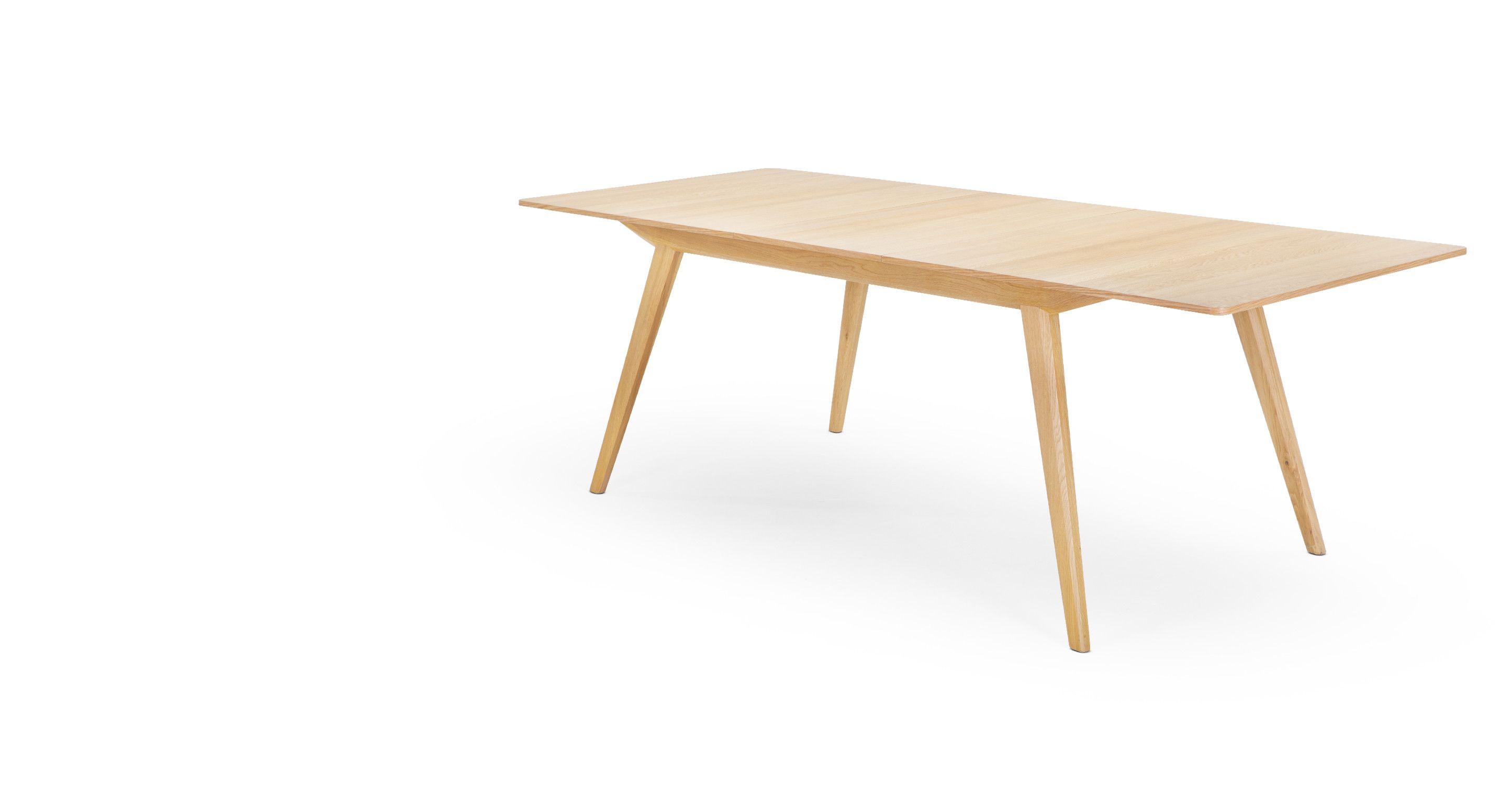 Jenson une table  rallonge chªne made