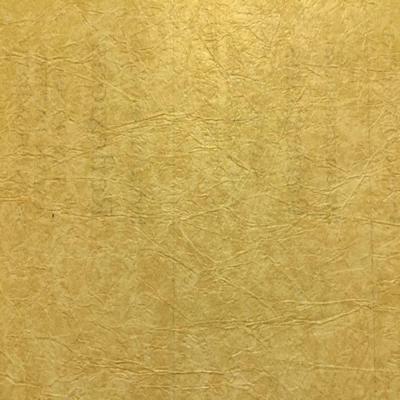 Antique Gold Rice Paper Textured Wallpaper