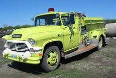 GMC - Old Fire Trucks -