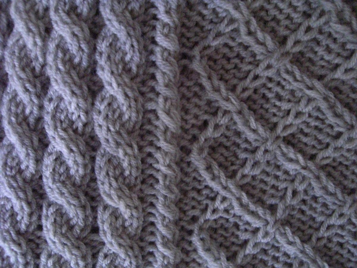 Photo of Mützen stricken mit Zopfmuster und Rautenmuster. Merinowolle 160 extrafine