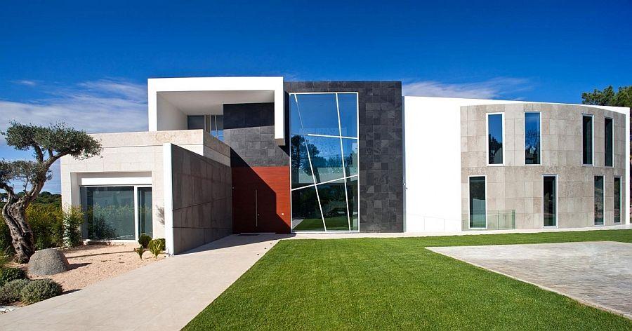 Exciting Decor And Brilliant Accents Enliven Posh Villa In ... on preppy home design, glam home design, trendy home design,