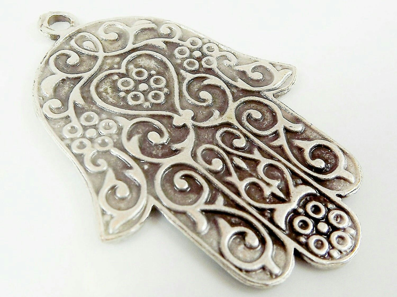 Tattoos arabesque tattoos arabeske tattoos arabesk tattoos - Hamsa Hand Handmade Silver Piercings Egypt Symbols Om Mano Hamsa Tattoos Accessories