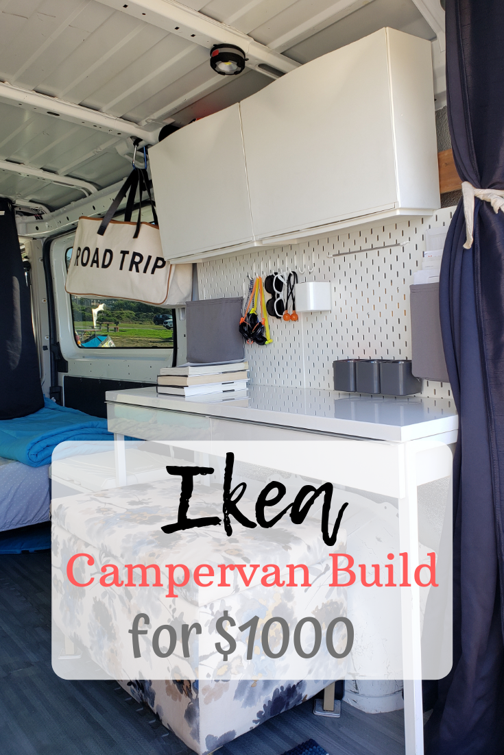 Photo of $1000 IKEA Vanbuild Project! Here's how we build our van to live in full-time us…