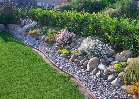 Aus liebe zum stein beeteinfassung gardens plants - Garten beeteinfassung stein ...