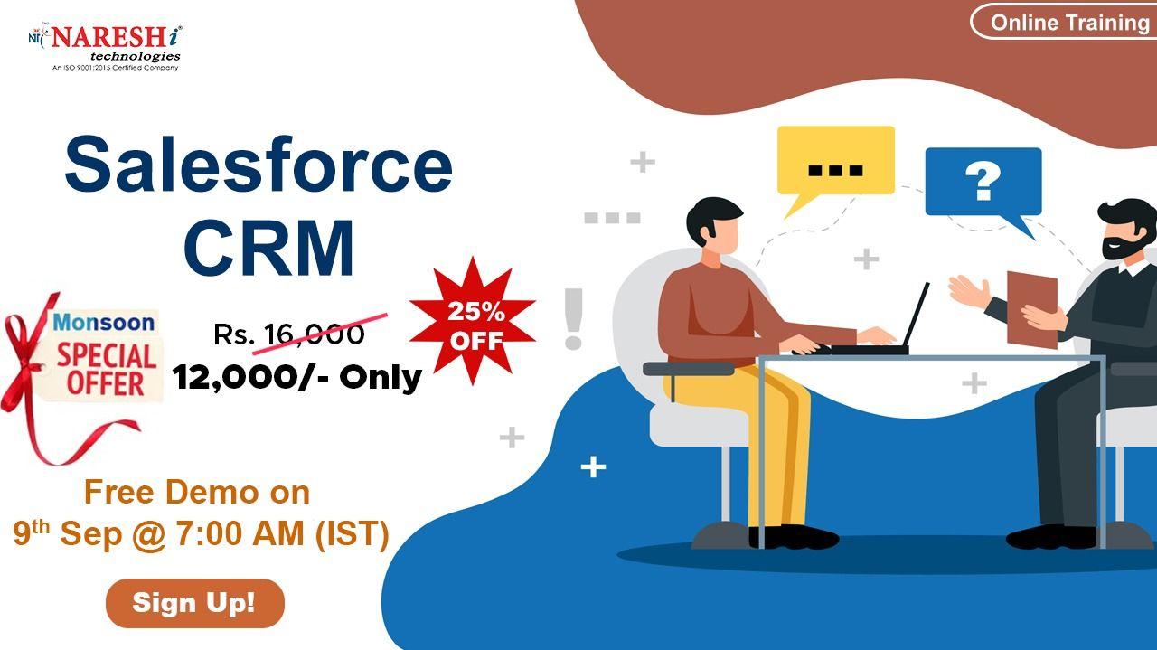 Salesforce CRM Online Training Demo on 9th September 7