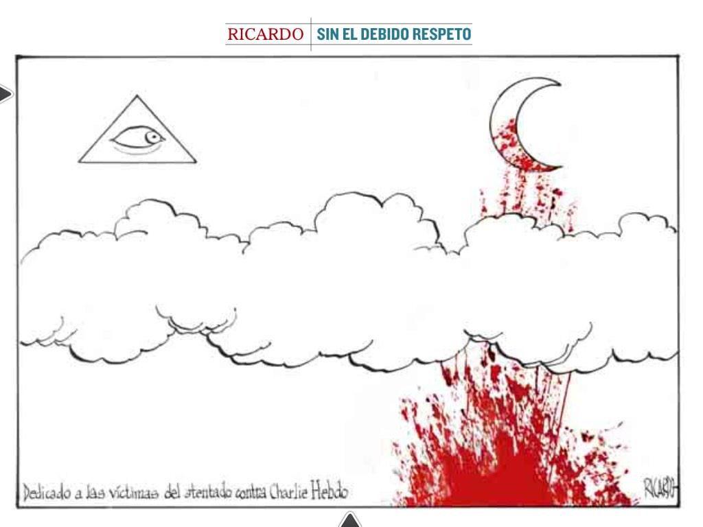 """Ricardo, en @elmundo_orbyt #CharlieHebdo #JeSuisCharlie"""