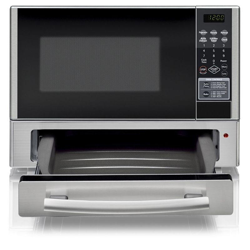 kenmore microwave pizza oven