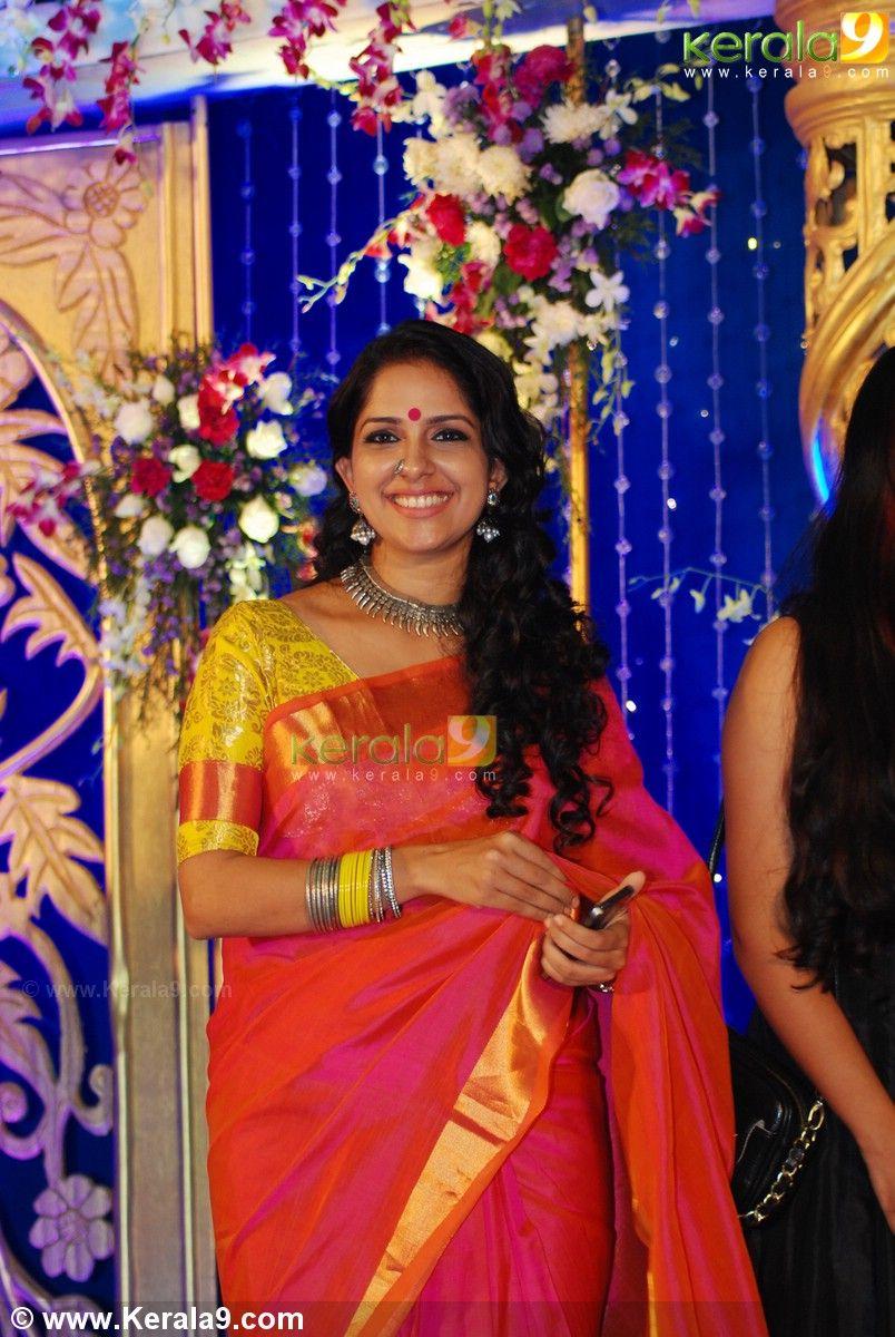 aju varghese wedding reception held at ima hall kochi.view aju