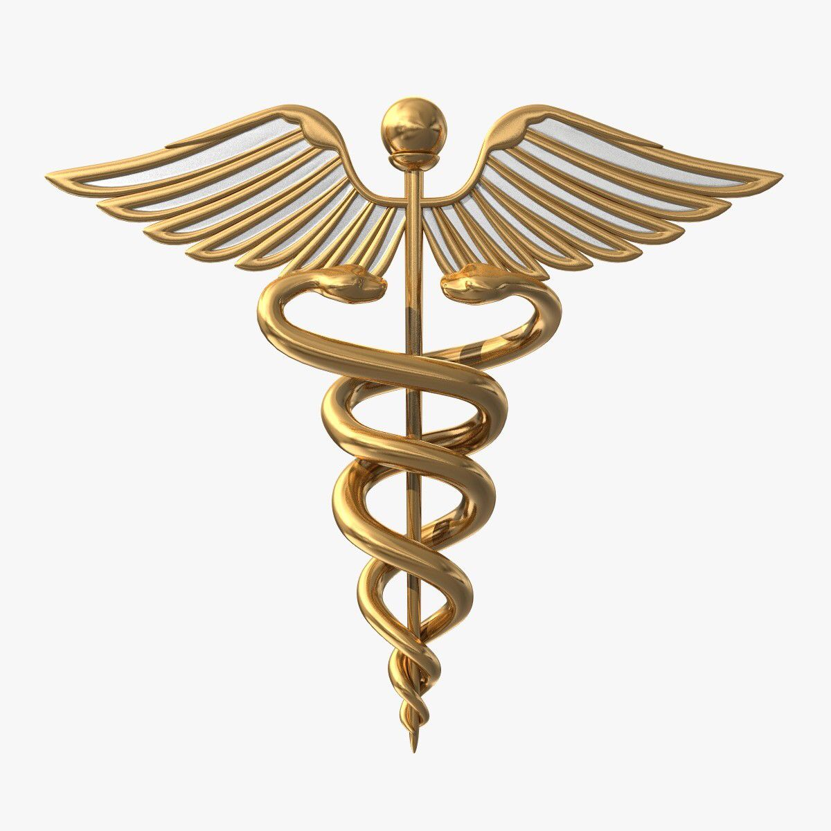 This Is The Staff Hermes Would Carry Around It Represents Two