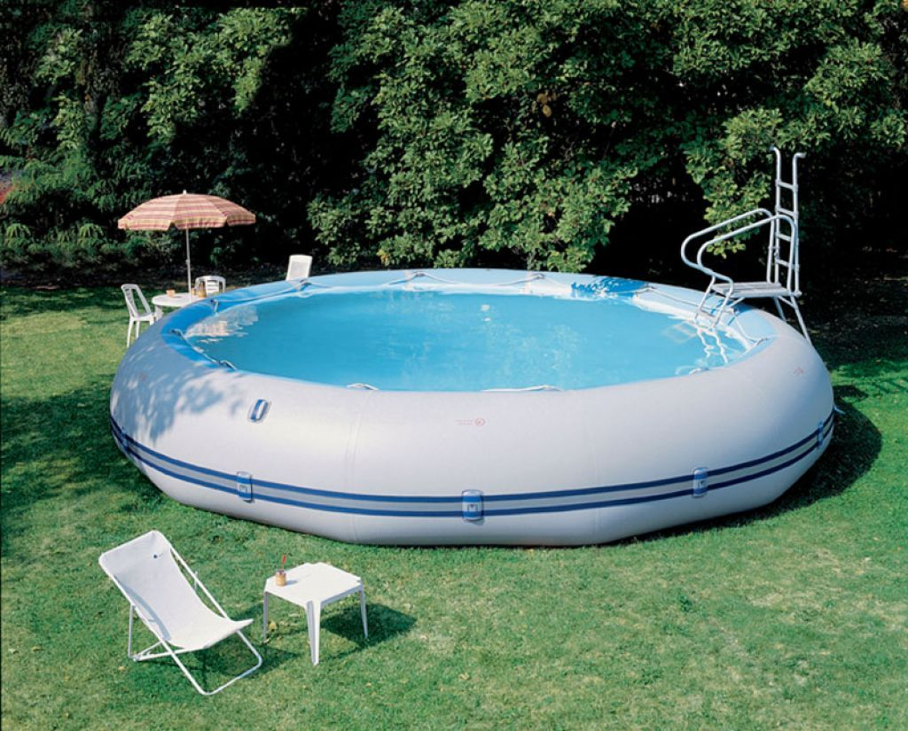 How to Install an Outdoor Inflatable Pool