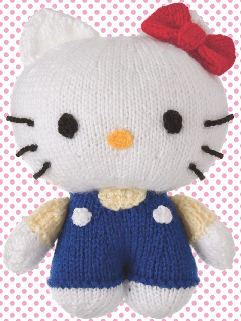 Adorable Hello Kitty Toy Knitting Pattern The Perfect Gift For Any