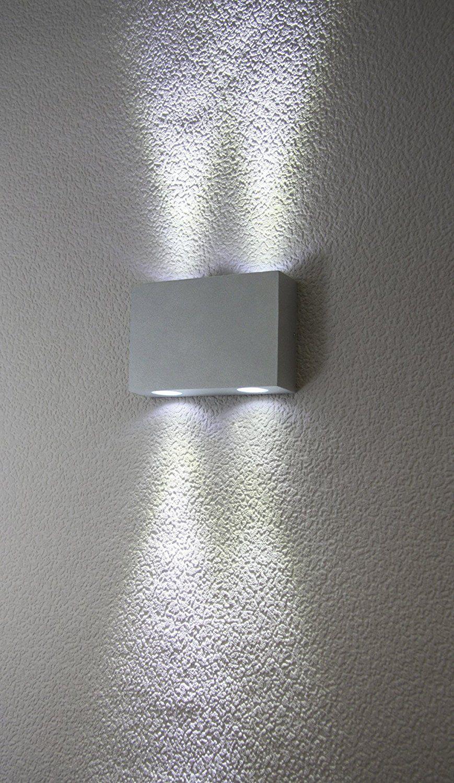 Extérieure Avec Murale Milo 4 Applique Led Ampoules HDWE29I