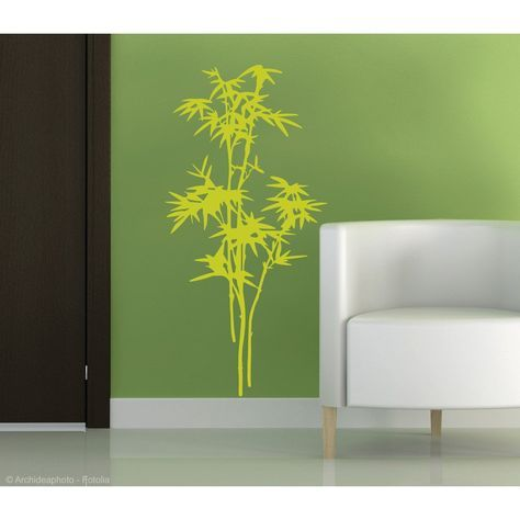 Sticker Zen Bambous 48 Cm X 68 Cm Decoration Maison Bambou