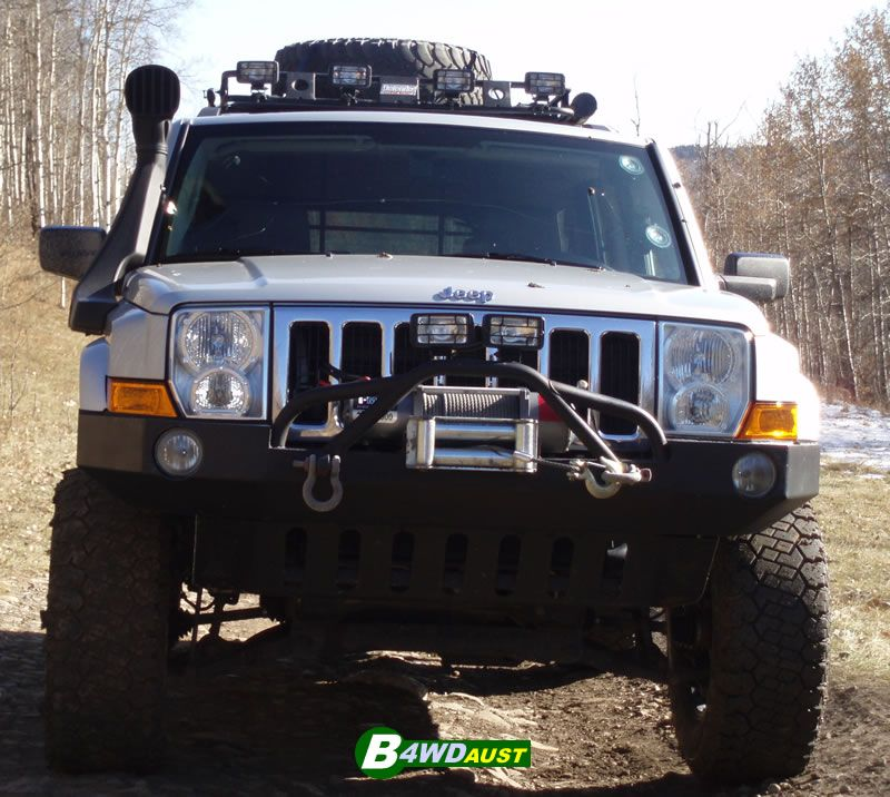 Airflow Snorkel Kit Jeep Commander Petrol + AU Free