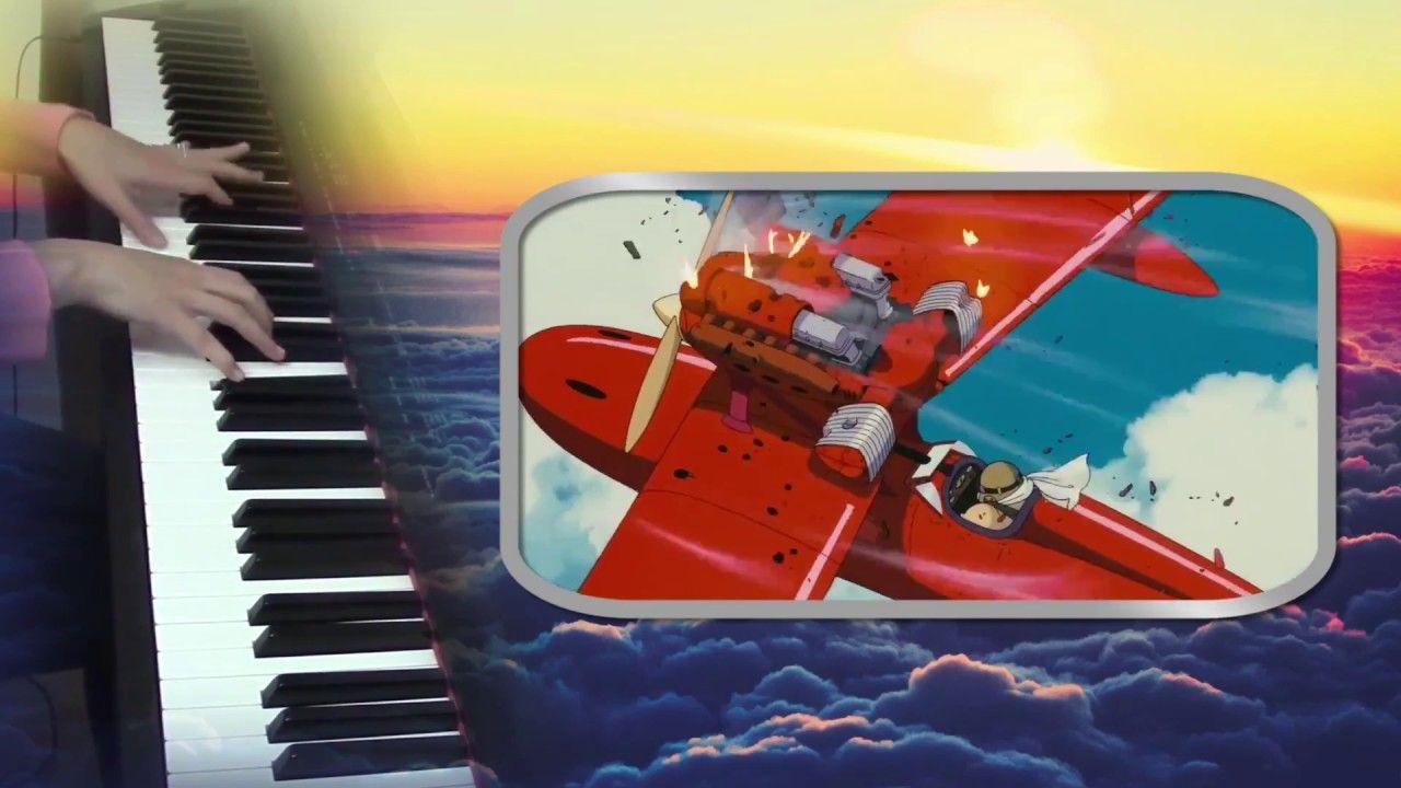 Porco Rosso Ghibli Toki Ni Wa Mukashi No Hanashi Wo Piano Arr Ma Piano Song Play Ghibli