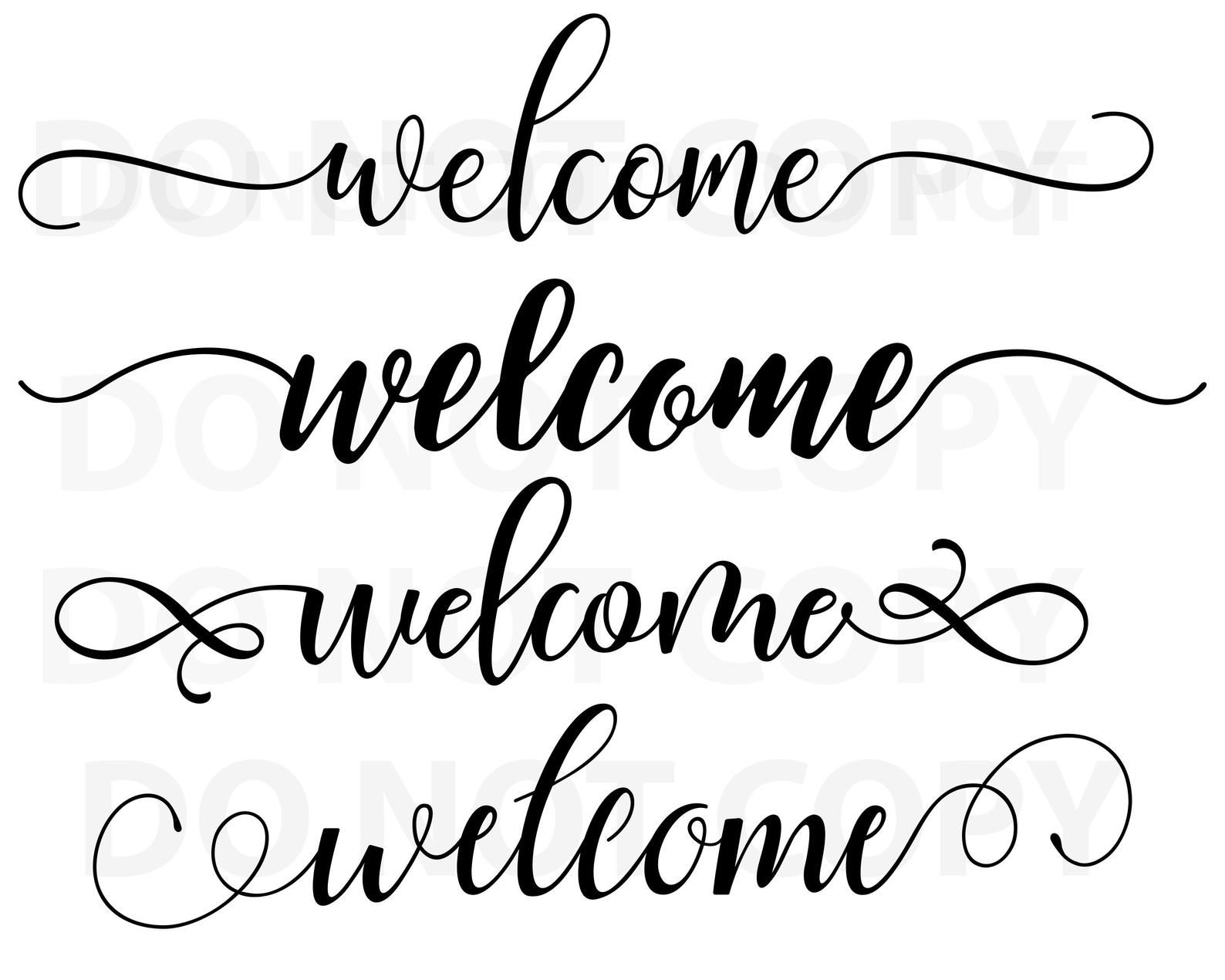 Welcome Sign Svg Bundle Quotes Svg File For Cricut Sayings Etsy In 2020 Stencils For Wood Signs Svg Files For Cricut Svg Quotes