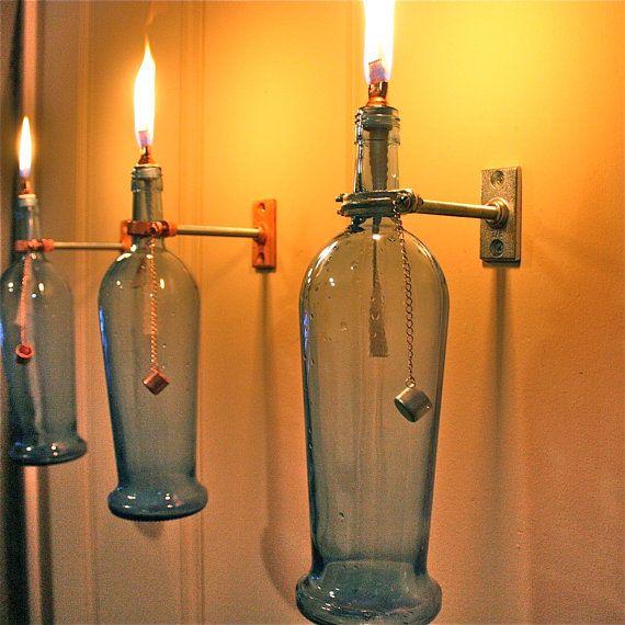 Love These Oil Lamps Met Afbeeldingen Fles Lichten Olielamp