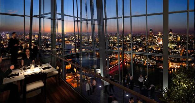 Aqua Shard Private Dining Room Captivating Highaltitude Dining In London  London Calling Buckets And Tower Inspiration Design